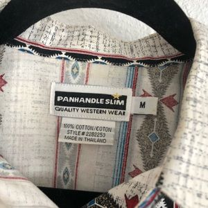 Panhandle Slim Tops - Panhandle slim vintage western shirt